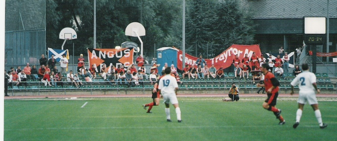 1997-98 - CE Principat 0-8 Dundee United - UEFA Cup 1st Qualifying Round 1st Leg (1)